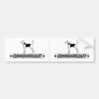 Humorous Treeing Walker Coonhound Bumper Sticker