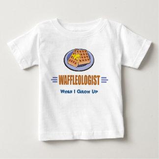Humorous Waffle Chef Baby T-Shirt