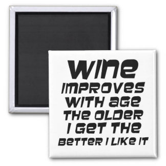 Humorous wine quotes funny novelty slogan gifts magnet