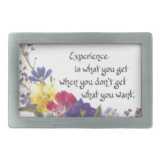 Humorous Wisdom Belt Buckle