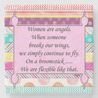 Humorous Womens Inspiration Coaster