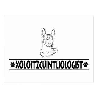 Humorous Xoloitzcuintli Postcard