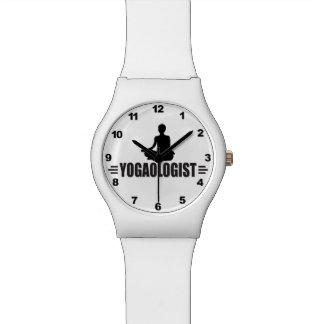 Humorous Yoga Wrist Watches