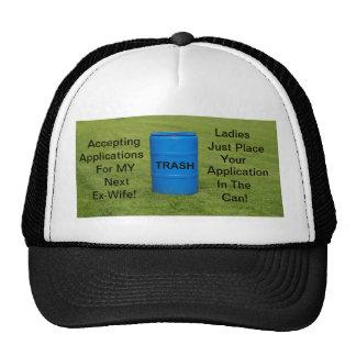 Humour d'ex-femme de chapeau casquette
