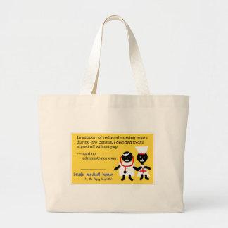 Humour médical sacs de toile