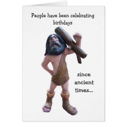 Humourous 50th Birthday Card