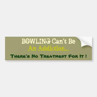 Humourous Bowling Bumper Sticker