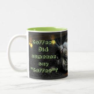 Humourous Cat Coffee Mug
