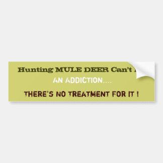 Humourous Hunting Bumper Sticker
