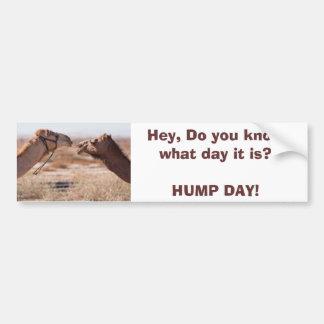 Hump Day Bumper Sticker