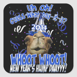 Hump Day Camel 2014 New Year's Keepsake Stickers