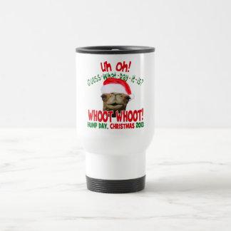Hump Day Camel Christmas 2013 Travel Coffee Mug