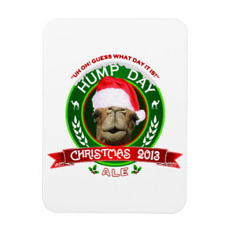 Hump Day Camel Christmas Ale Magnet