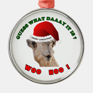 Hump Day Camel Christmas Ornament holiday gift