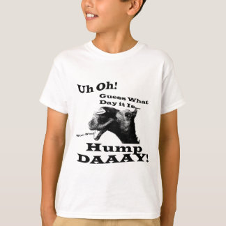 Hump Day Camel in black T-Shirt