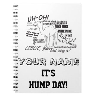HUMP DAY CAMEL NOTEBOOK