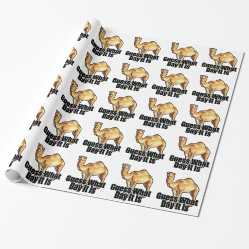 Hump Day Camel T Shirts j.png Wrapping Paper