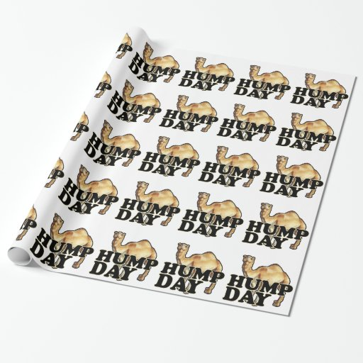 Hump Day Camel T Shirts.png Gift Wrapping Paper