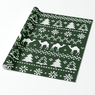 Hump Day Camel Ugly Christmas Sweater Gift Paper