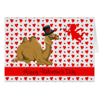 Hump Day Camel Valentine s Day card