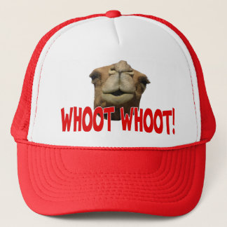 Hump Day Camel Whoot Whoot Trucker Hat