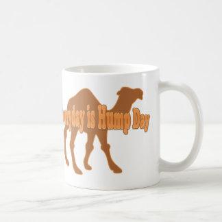 Hump Day Everyday is Hump day Humor Basic White Mug