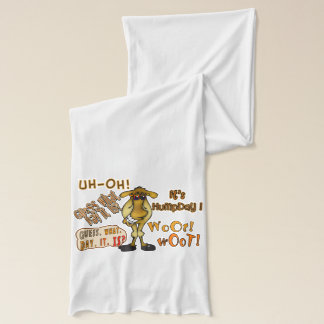 Hump Day Funny Camel Cartoon Scarf