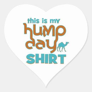 Hump Day Heart Sticker