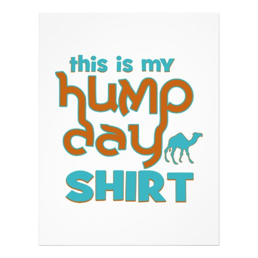 Hump Day Personalized Letterhead