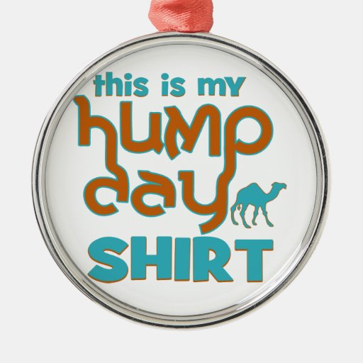 Hump Day Christmas Tree Ornaments