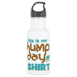 Hump Day 18oz Water Bottle