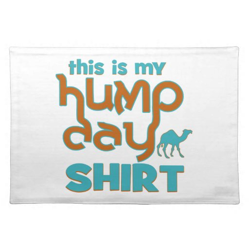 Hump Day Placemats