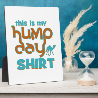 Hump Day Display Plaques
