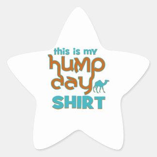 Hump Day Star Sticker