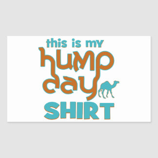 Hump Day Rectangle Sticker