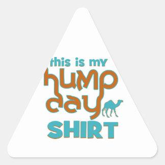 Hump Day Triangle Sticker