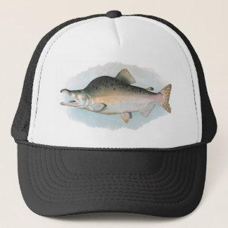 Humpback Salmon Fishing Hat