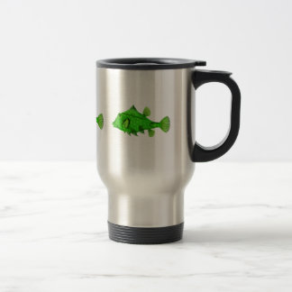 Humpback Turretfish Green Travel Mug