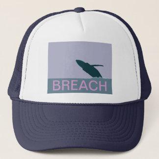 Humpback whale breach cap