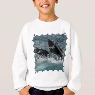 Humpback Whale Children's Sweatshirt