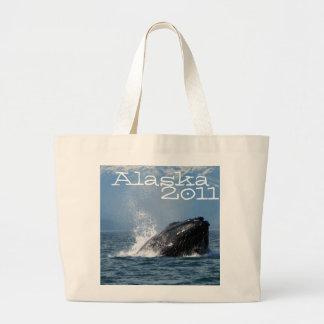 Humpback Whale Feeding Jumbo Tote Bag