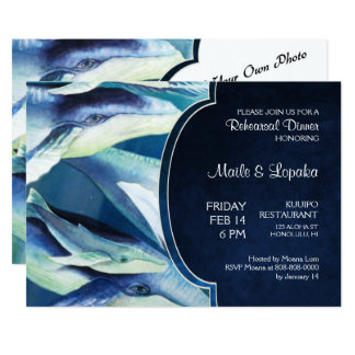 Humpback Whale Invitation