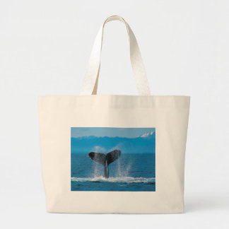 Humpback Whale Large Tote Bag