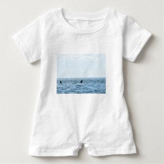 HUMPBACK WHALE MACKAY QUEENSLAND AUSTRALIA BABY ROMPER