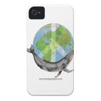 Humpback Whale Peace design. Case-Mate iPhone 4 Cases
