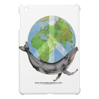 Humpback Whale Peace design. iPad Mini Cover