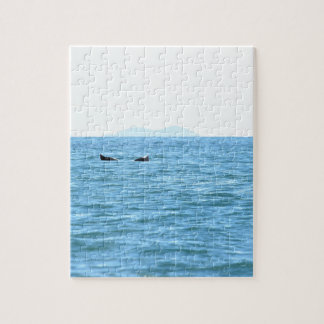 HUMPBACK WHALE TAIL MACKAY QUEENSLAND AUSTRALIA JIGSAW PUZZLE
