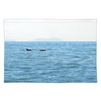 HUMPBACK WHALE TAIL MACKAY QUEENSLAND AUSTRALIA PLACEMAT