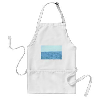 HUMPBACK WHALE TAIL MACKAY QUEENSLAND AUSTRALIA STANDARD APRON