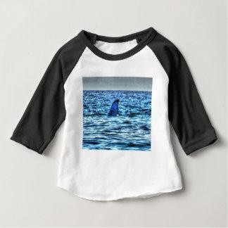 HUMPBACK WHALE TAIL QUEENSLAND AUSTRALIA ART BABY T-Shirt